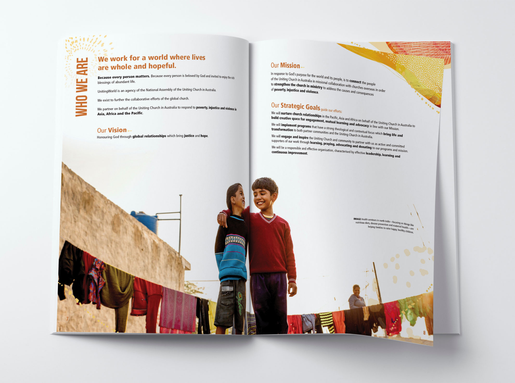 Uniting World annual report